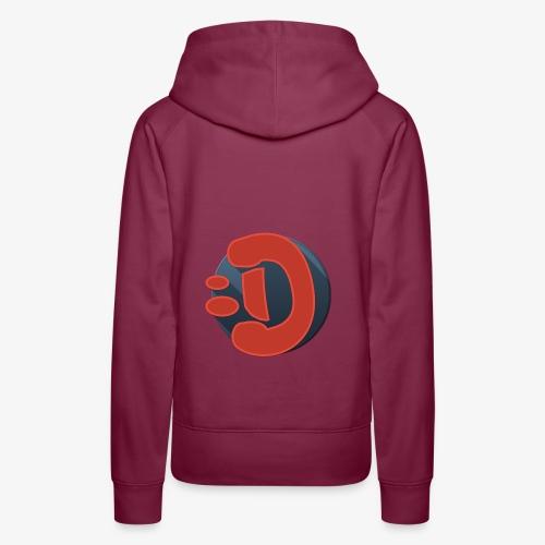 DR4C0_B0Y LOGO - Sweat-shirt à capuche Premium pour femmes