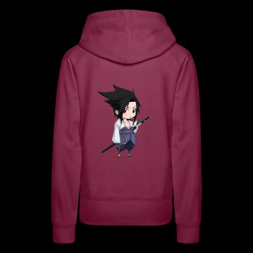 Sasuke - Sweat-shirt à capuche Premium pour femmes