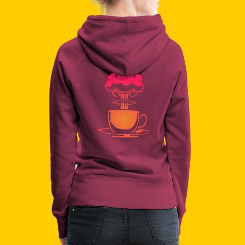 Atom coffee - Premiumluvtröja dam