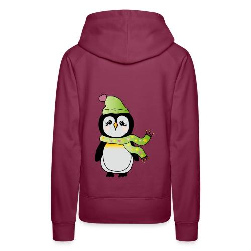 Pinguin - Frauen Premium Hoodie