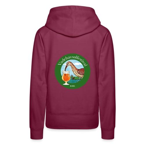 Vadehavsølfestival - Dame Premium hættetrøje
