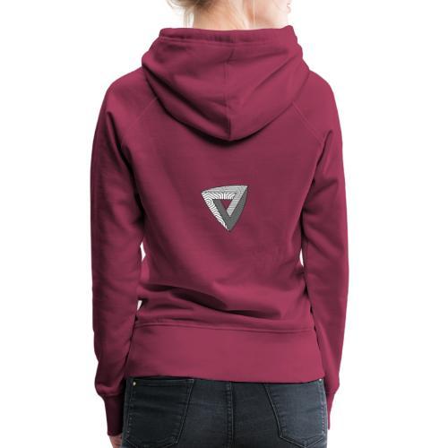 Nothing Impossible motif - Sweat-shirt à capuche Premium pour femmes