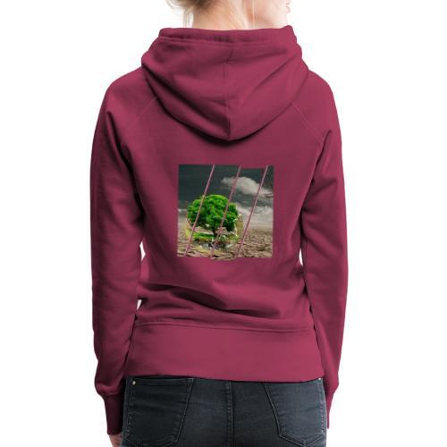 Terre - Sweat-shirt à capuche Premium pour femmes