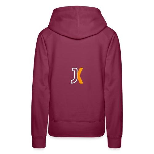 Logo JaKKzy - Felpa con cappuccio premium da donna