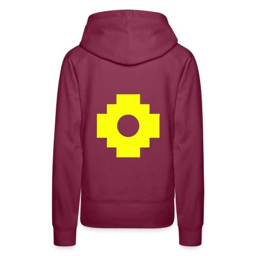 croix1 - Sweat-shirt à capuche Premium pour femmes