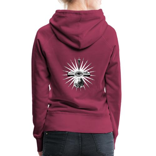 Blues Is The Truth - white star - Women's Premium Hoodie