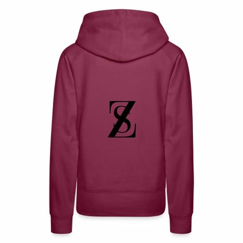 ZS merchandising - Felpa con cappuccio premium da donna