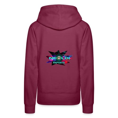 Neo flash - Sweat-shirt à capuche Premium pour femmes