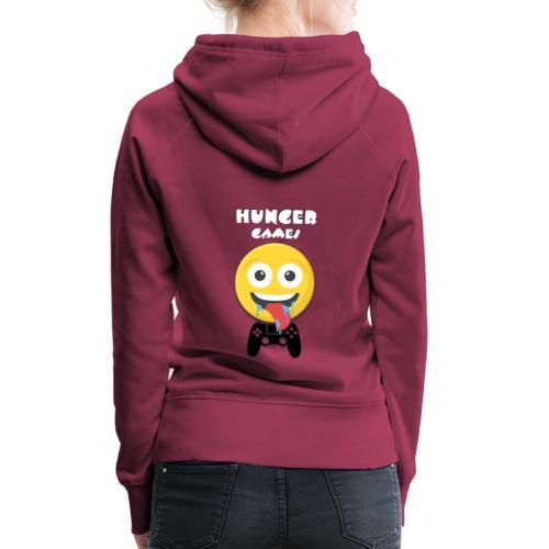 Hunger Games TShirt - Sweat-shirt à capuche Premium pour femmes