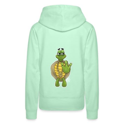 West Coast Schildkröte / Hip-Hop Turtle - Frauen Premium Hoodie