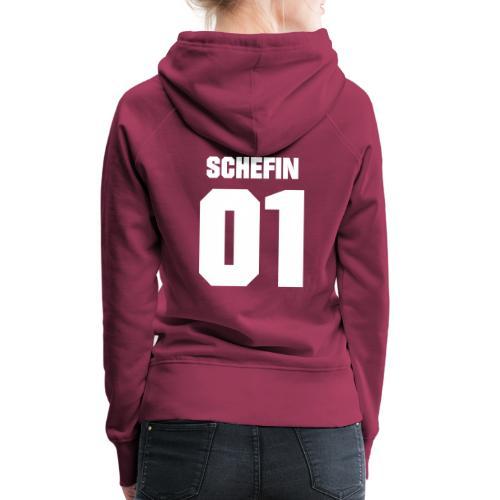Vorschau: Schef Schefin - Frauen Premium Hoodie
