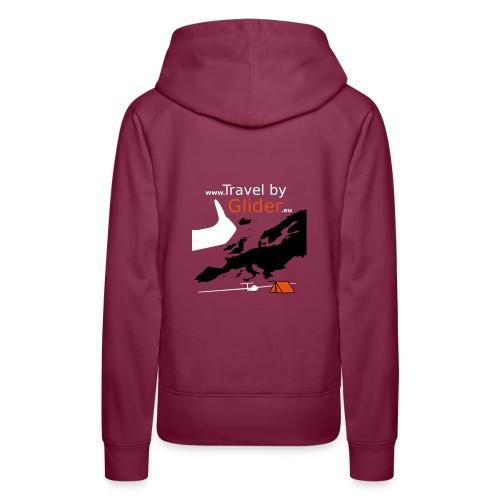 TravelByGlider_Shirt_Logo - Frauen Premium Hoodie