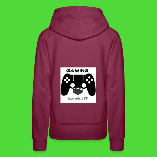 Gamepixle-Merch - Frauen Premium Hoodie