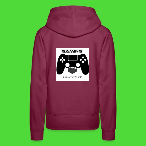 Gamepixle-Merch - Frauen Premium Hoodie