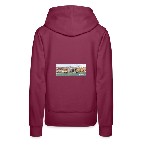 PRIMAL CITIES - Sweat-shirt à capuche Premium pour femmes