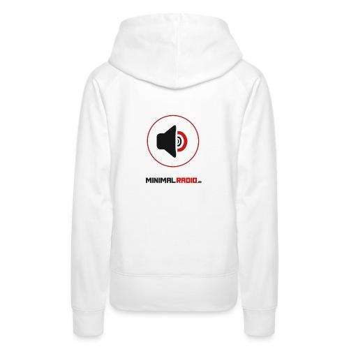 MINIMALRADIO DE Logo Schriftzug - Frauen Premium Hoodie