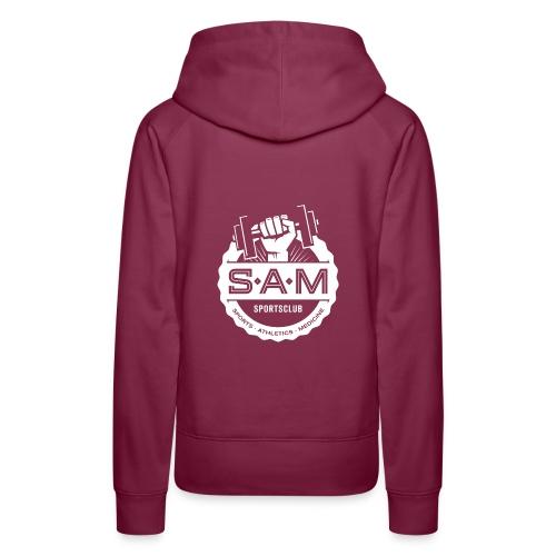 SamSportsclub Logo rund - Frauen Premium Hoodie
