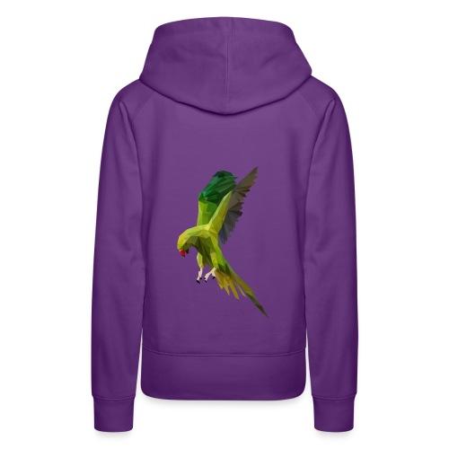 PERROQUET - MINIMALISTE - Sweat-shirt à capuche Premium pour femmes