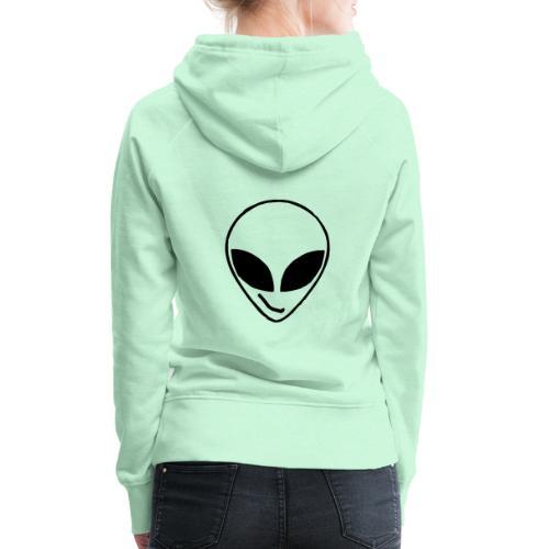 Alien simple Mask - Women's Premium Hoodie