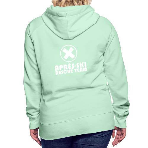 APRÈS SKI RESCUE TEAM 1 - Vrouwen Premium hoodie