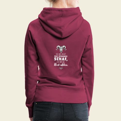 Schwarzes Schaf - black edition - Frauen Premium Hoodie