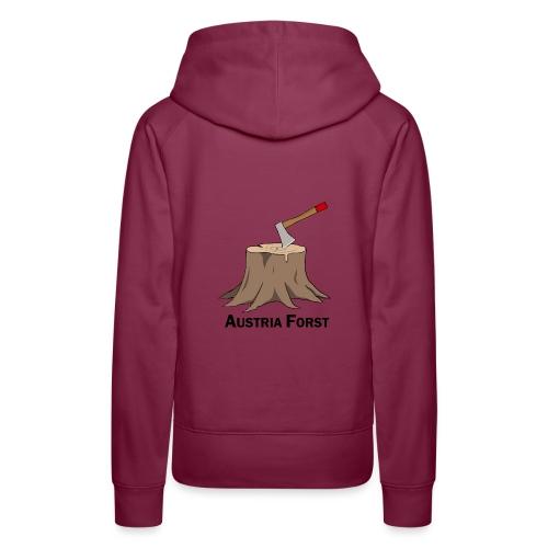 Baumstumpf - Frauen Premium Hoodie
