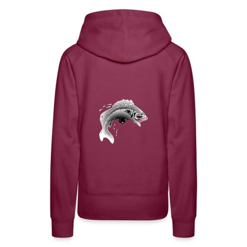 carpe - Sweat-shirt à capuche Premium pour femmes