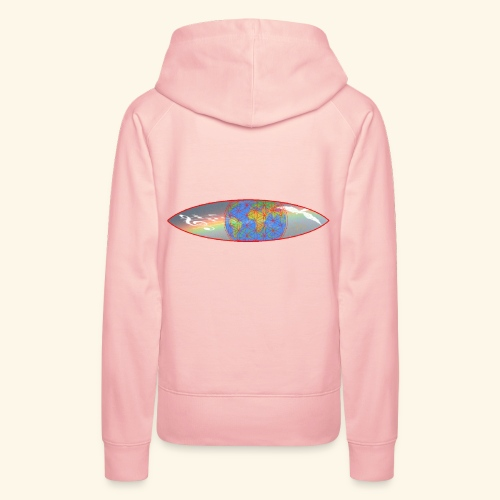 Heal the World - Frauen Premium Hoodie