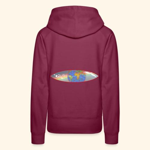 Heal the World - Frauen Premium Hoodie