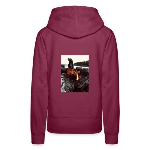 rigo poncio - Sudadera con capucha premium para mujer