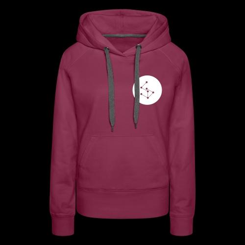 Lan Circle Hoodie Red - Women's Premium Hoodie