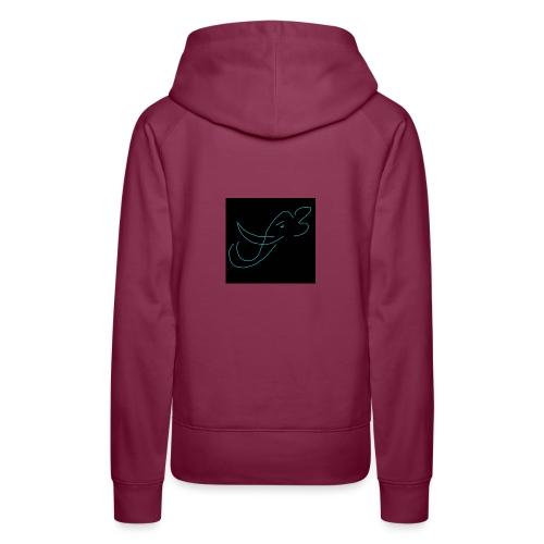 Éléphant - Sweat-shirt à capuche Premium pour femmes