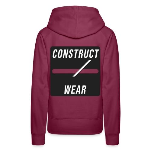 constructwear. Future design - Frauen Premium Hoodie