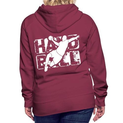 HANDN - Sweat-shirt à capuche Premium pour femmes