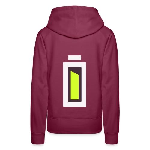 Batterie - Ready ?! - Sweat-shirt à capuche Premium pour femmes