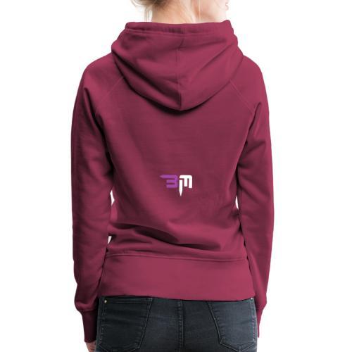 ByMufler - Sudadera con capucha premium para mujer