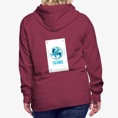BLUE TALIONIS - Dame Premium hættetrøje