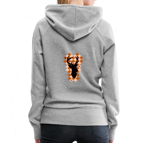DeerSquare - Naisten premium-huppari