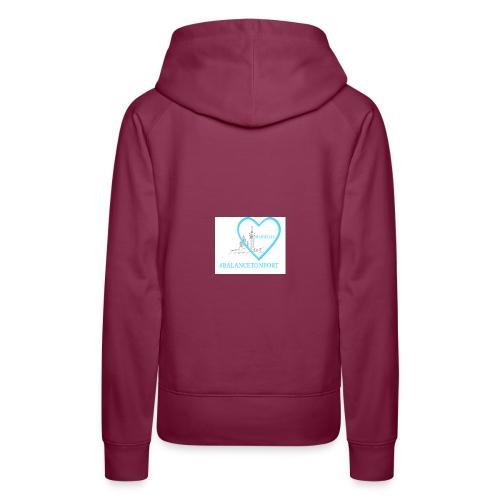 BalanceTonPortMarseille - Sweat-shirt à capuche Premium pour femmes