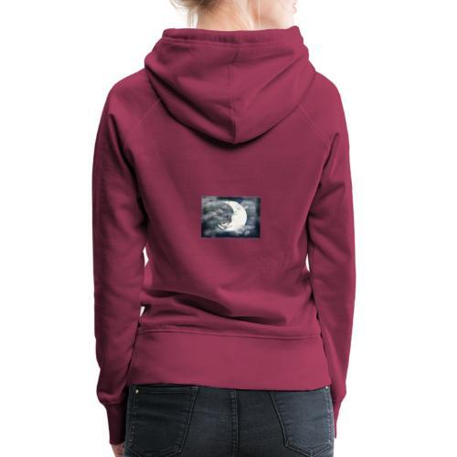 Der Mond - Frauen Premium Hoodie