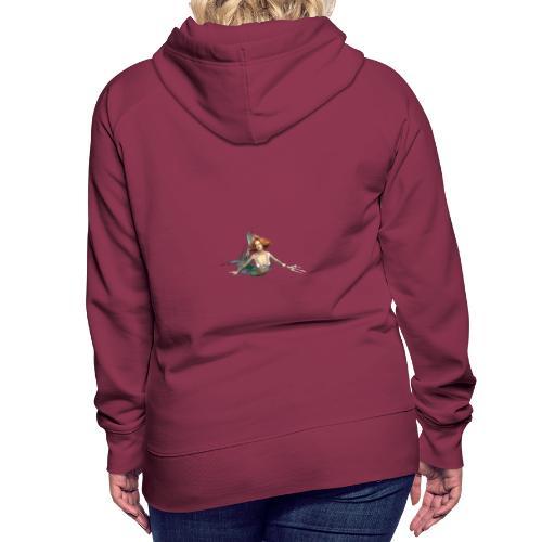 Meerjungfrau mit Dreizack - Frauen Premium Hoodie