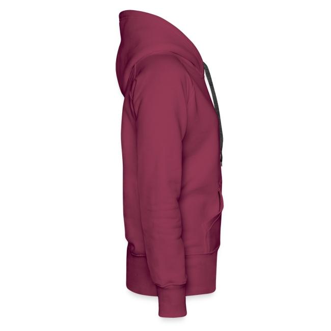 Vorschau: verrueckt - Frauen Premium Hoodie