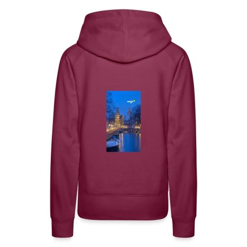 Youness - Sweat-shirt à capuche Premium pour femmes