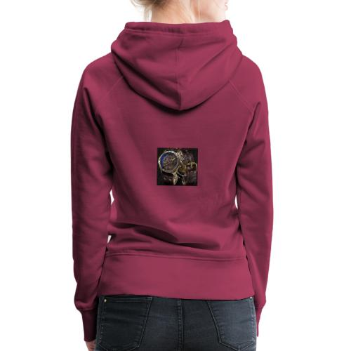 Automatic watches design - Frauen Premium Hoodie