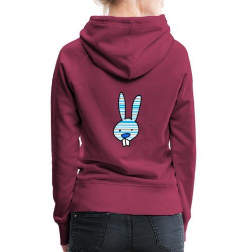 konijn cartoon - Vrouwen Premium hoodie