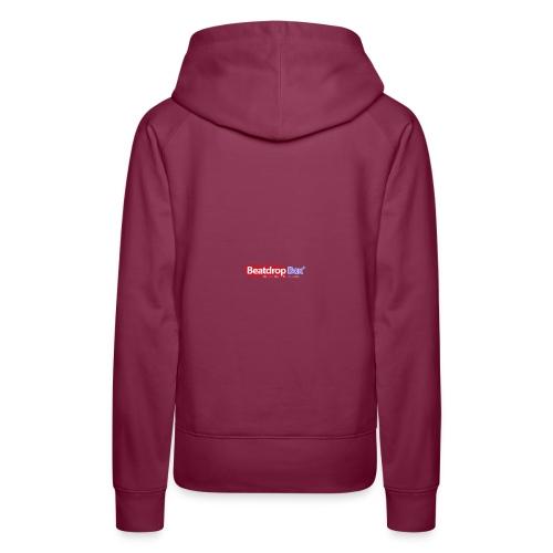 beatdropbox logo final and hires - Vrouwen Premium hoodie