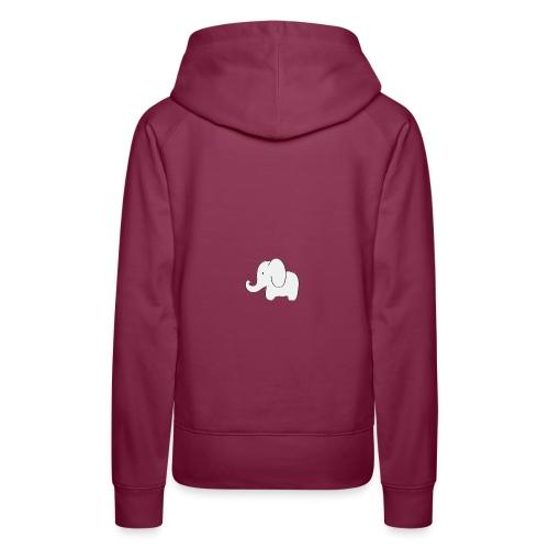 Little white elephant - Women's Premium Hoodie