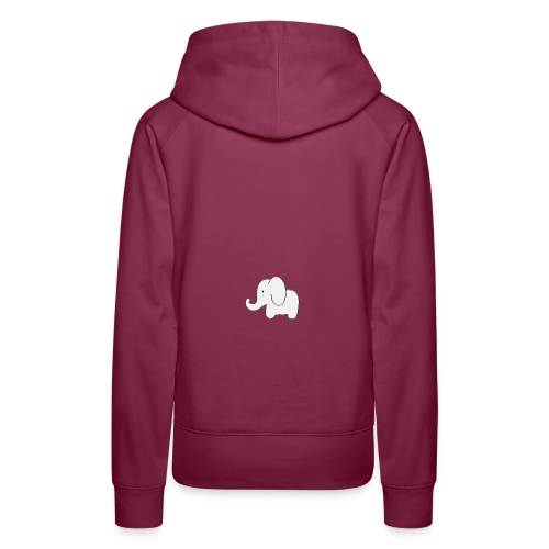 Little white elephant - Women's Premium Hoodie