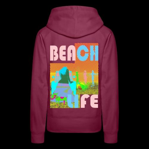 beachlife - Frauen Premium Hoodie