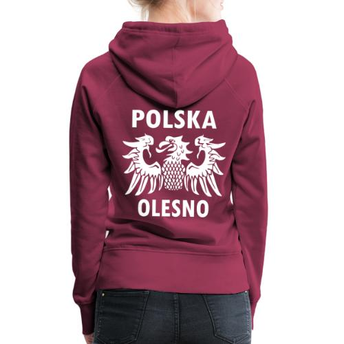 Polska Olesno - Frauen Premium Hoodie
